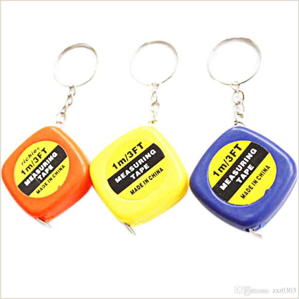 How To Make Retractable Easy Retractable Mini Measuring Tape New Cute 1 Meter Color Random Keychain Keyring Tool Portable Pull Ruler Keychain Bottle Opener Keychain Keychain