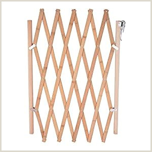 How To Make Retractable Hoomall Retractable Gate Expanding Fence Wooden Screen Door
