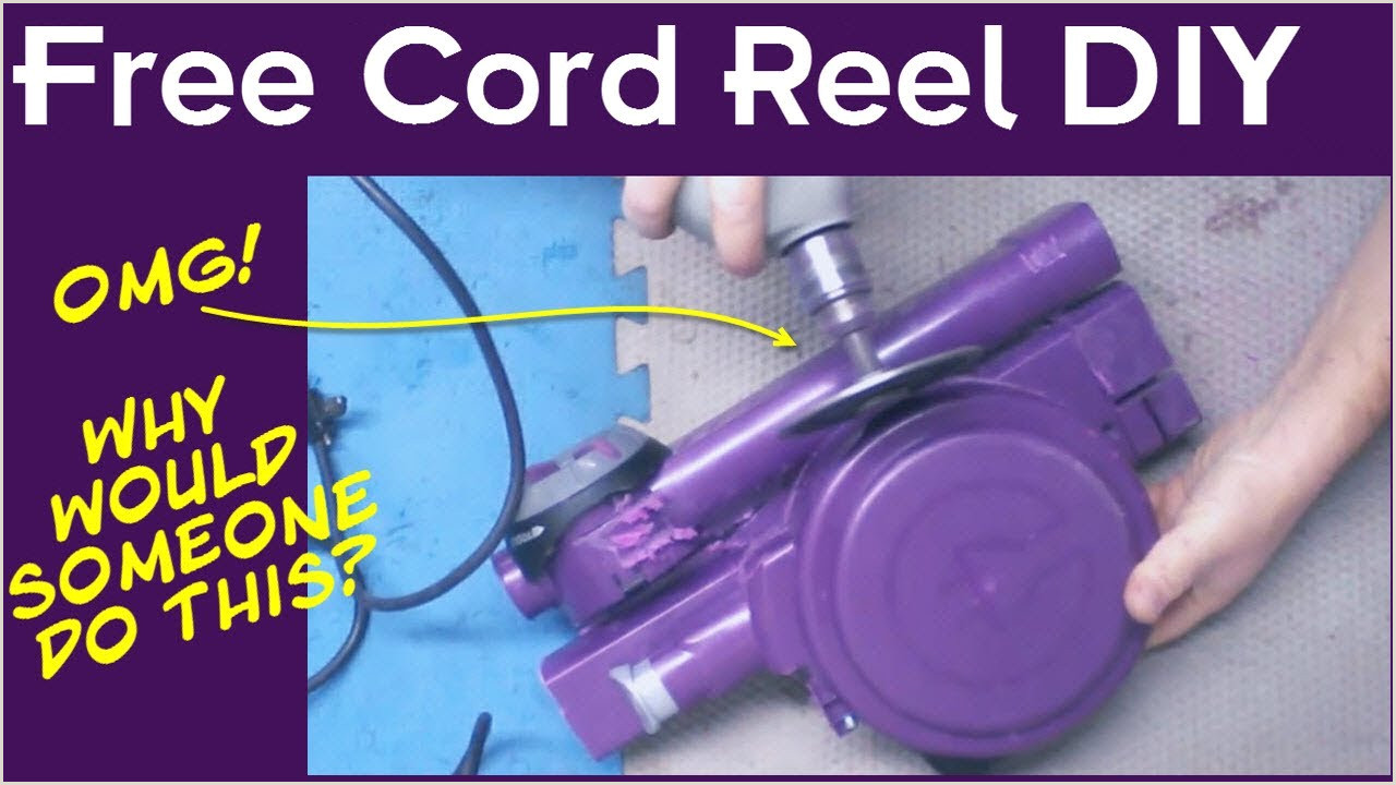 How To Make Retractable How To Make A Free Diy Retractable Cord Reel Or Drop Light