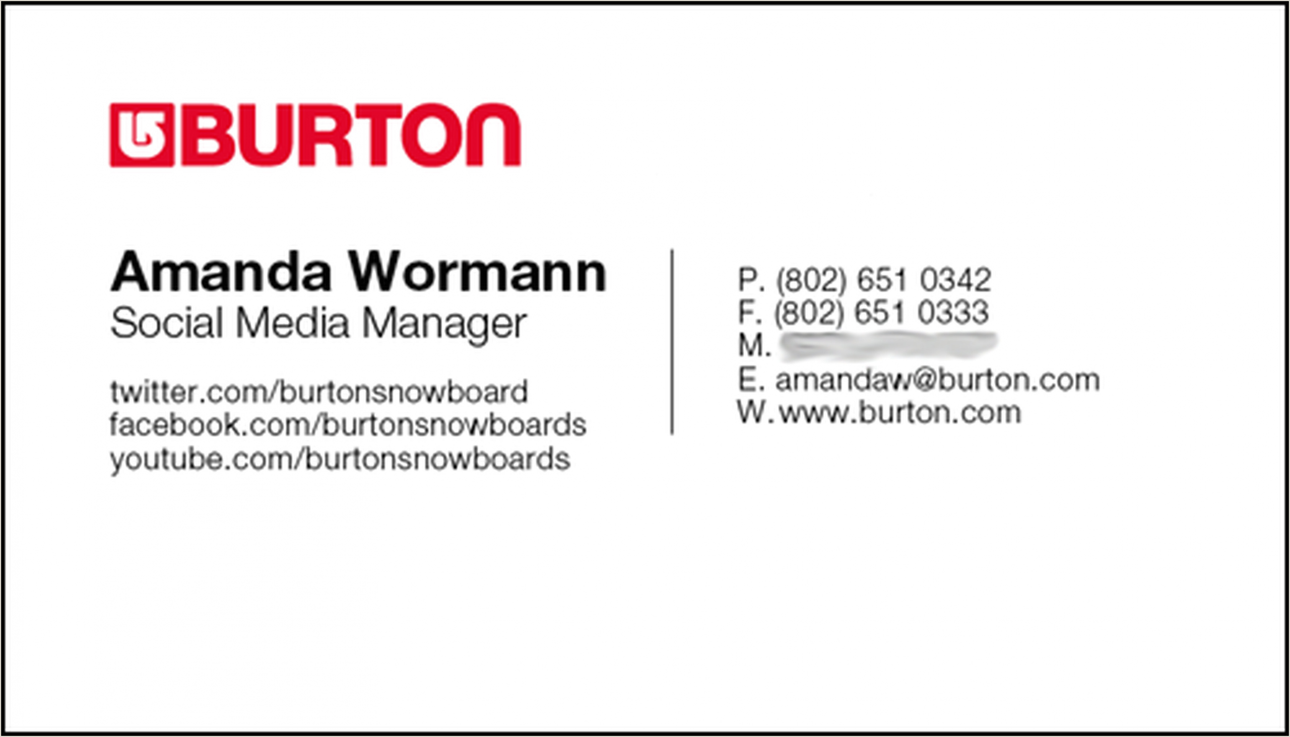 How To Put Social Media On Business Cards 12 Clever Social Media Friendly Business Cards