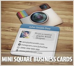 How To Put Social Media On Business Cards Business Cards With Social Media Contact Information