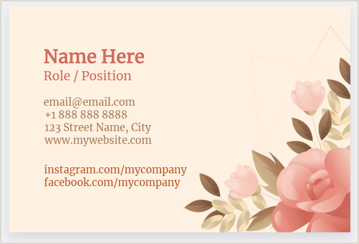 How To Put Social Media On Business Cards How To Put Socials Business Card