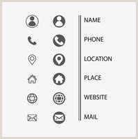 Icon For Business Cards Business Card Icons Free Vector Art 155 410 Free Downloads