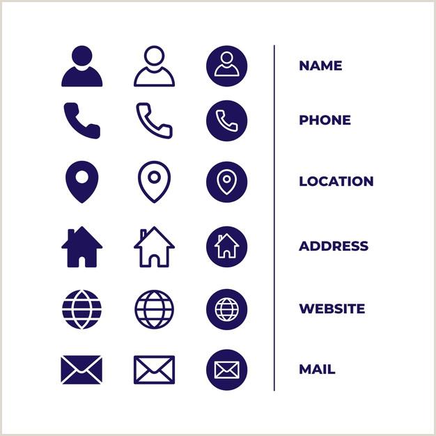 Icon For Business Cards Visitenkarten Symbole Kostenlos Bilder Kostenlos Drucken