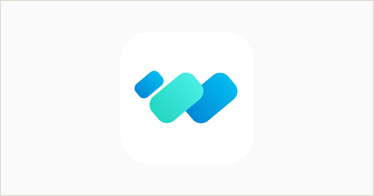 Icon For Business Cards Wecards Digital Business Card On The App Store