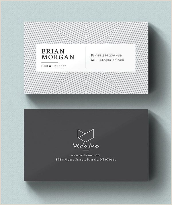 Idea Business Card 25 New Modern Business Card Templates Print Ready Design