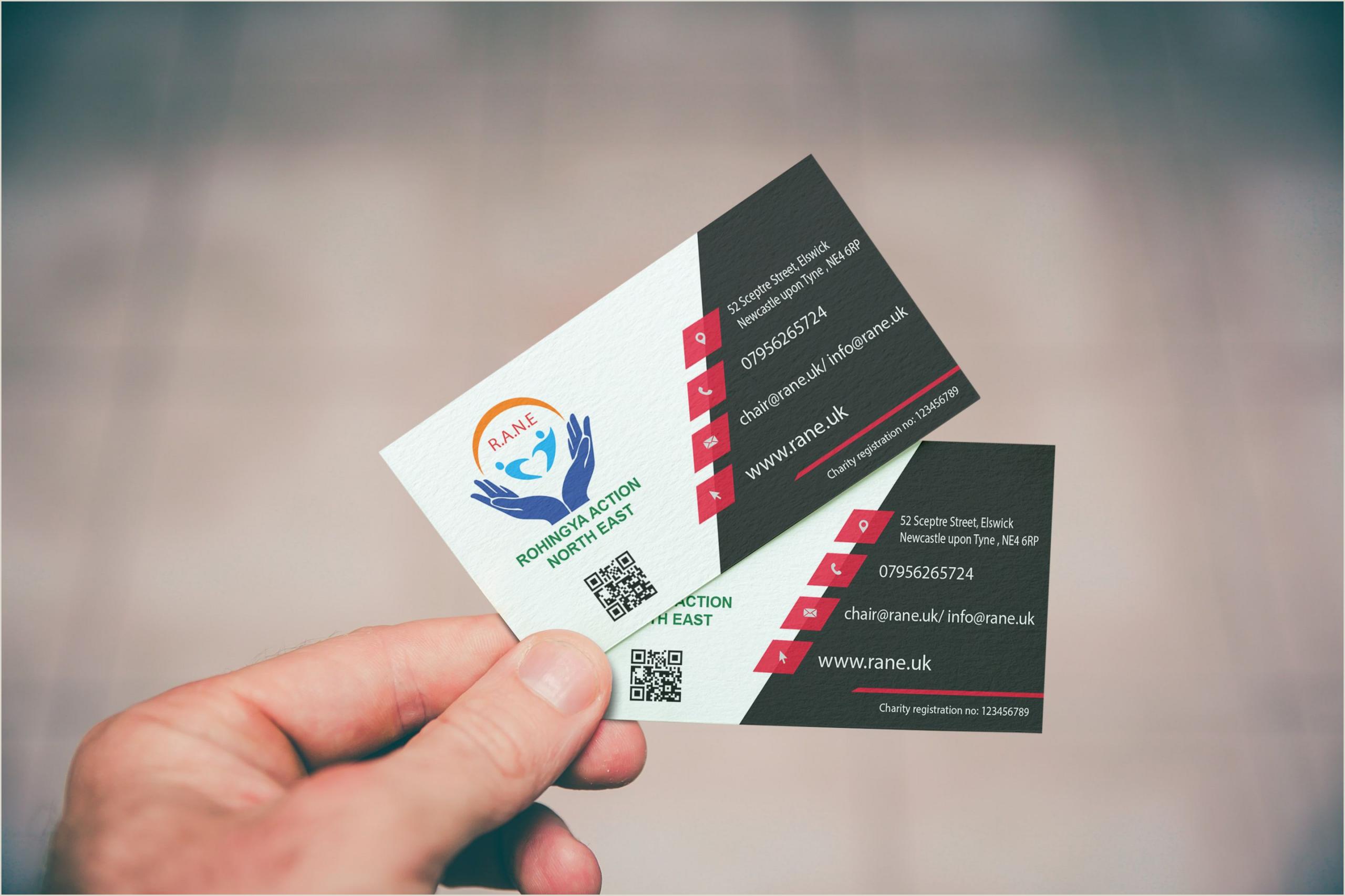 Idea Business Card Hi There I M A Professional Graphic Designer I Have 4