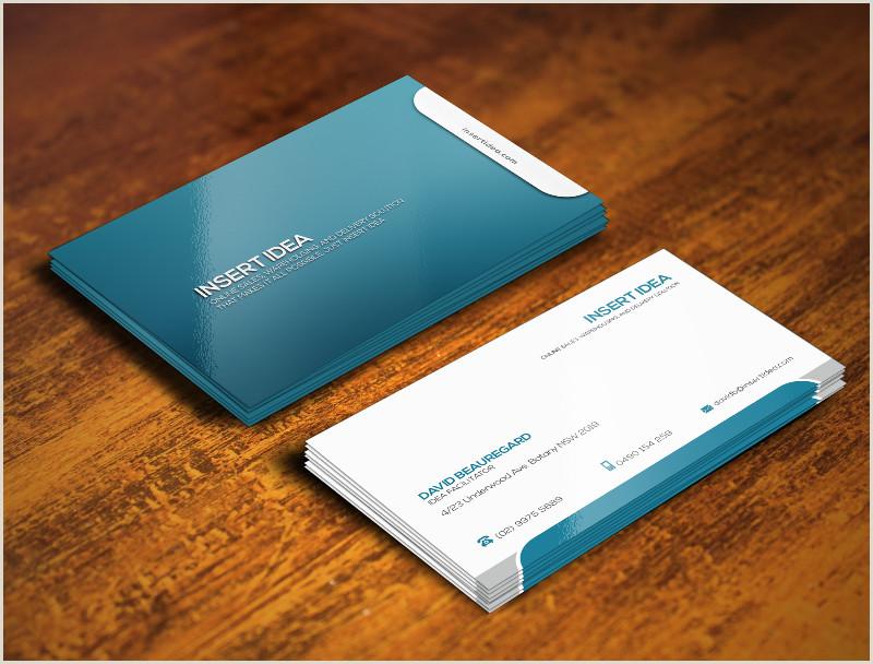 Idea Business Card Insert Idea Card Design Project