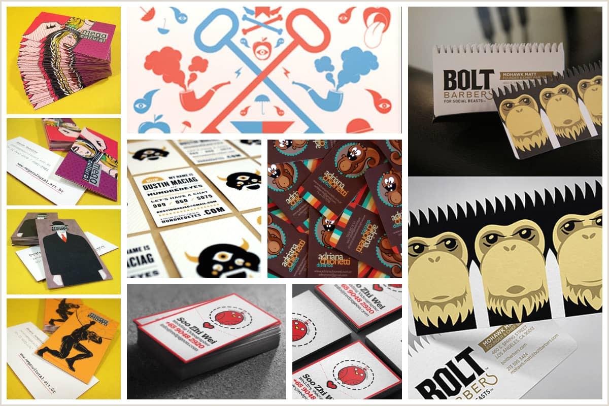 Illustrators Business Cards 25 Illustration Based Business Card Designs Inspirationfeed
