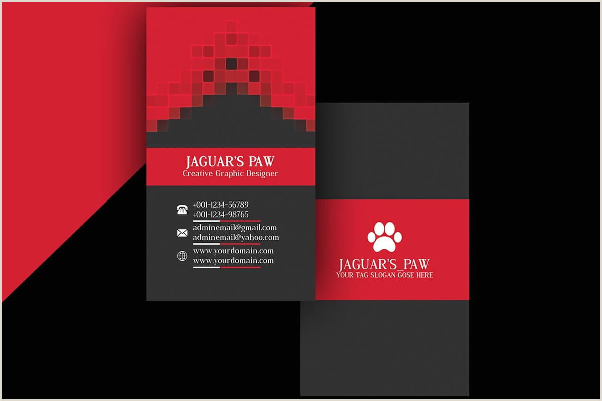 In Design Business Card Templates 100 Free Creative Business Cards Psd Templates
