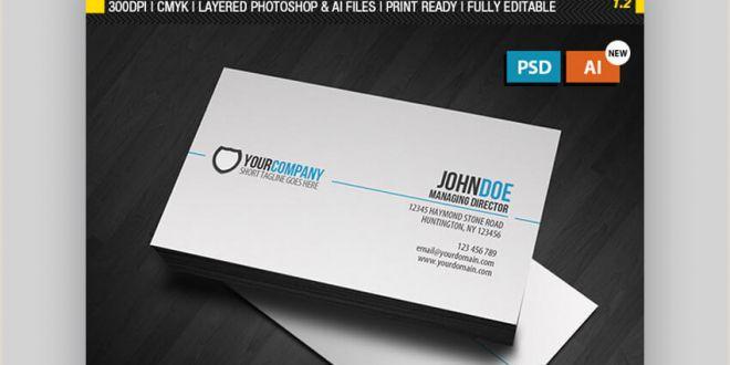 In Design Business Card Templates 24 Premium Business Card Templates In Shop