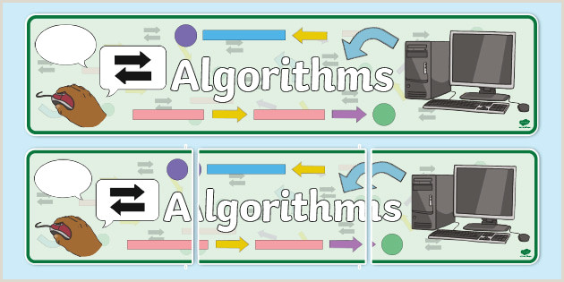 In Store Banners Algorithms Display Banner Teacher Made