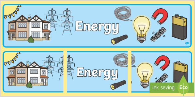 In Store Banners Free Energy Display Banner Teacher Made