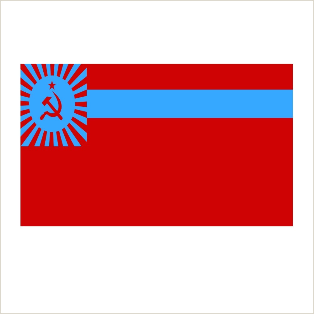In Store Banners Georgian Ssr Flag High Quality Polyester Georgian