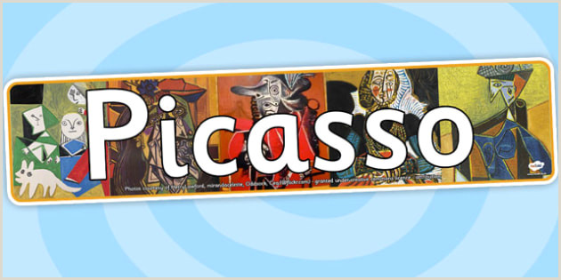 In Store Banners Picasso Display Banner Teacher Made