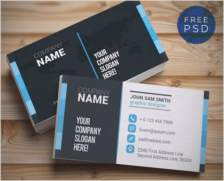 Information Business Card Best Business Card Templates In 2020