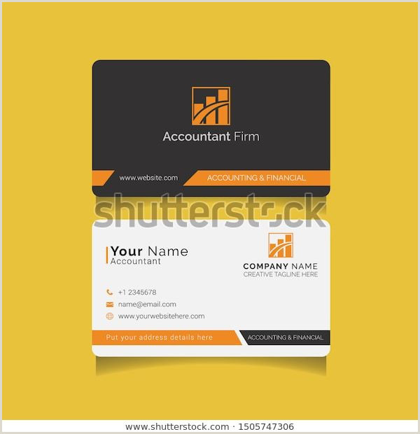 Information To Put On A Business Card Business Cards For Financial Accounting Audit And Tax