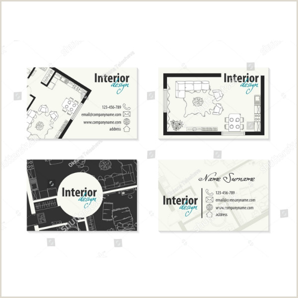Interior Design Business Cards Ideas 21 Interior Design Business Card Templates Ai Ms Word