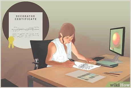 Interior Design Business Cards Ideas How To Be E An Interior Decorator With Wikihow