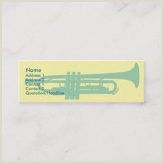 Jazz Musician Business Cards Unique 300 Best Musician Business Cards Images In 2020