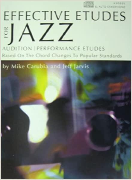 Jazz Musician Business Cards Unique Effective Etudes For Jazz For Jazz For Alto Saxophone