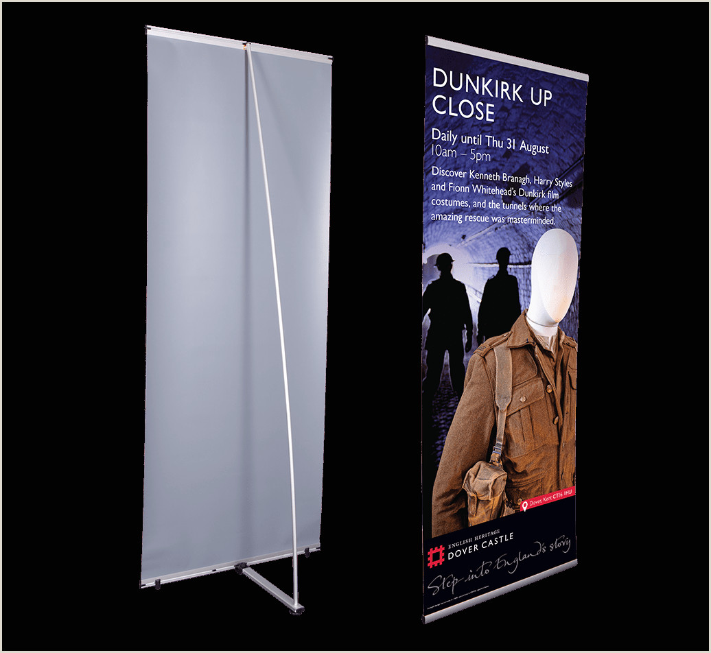 L Banner Stand L Banner Stands