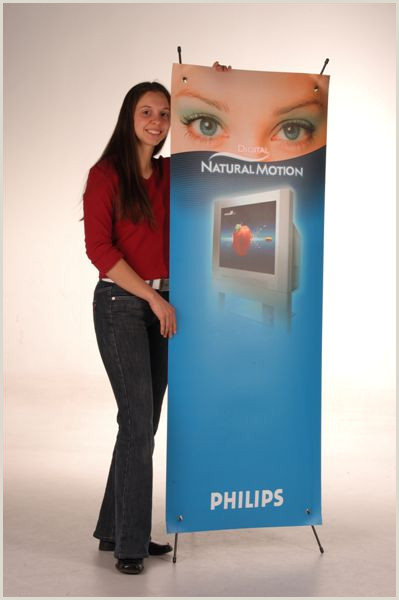 L Banner Stand Mobile Banner Stand Adjustable Display For You