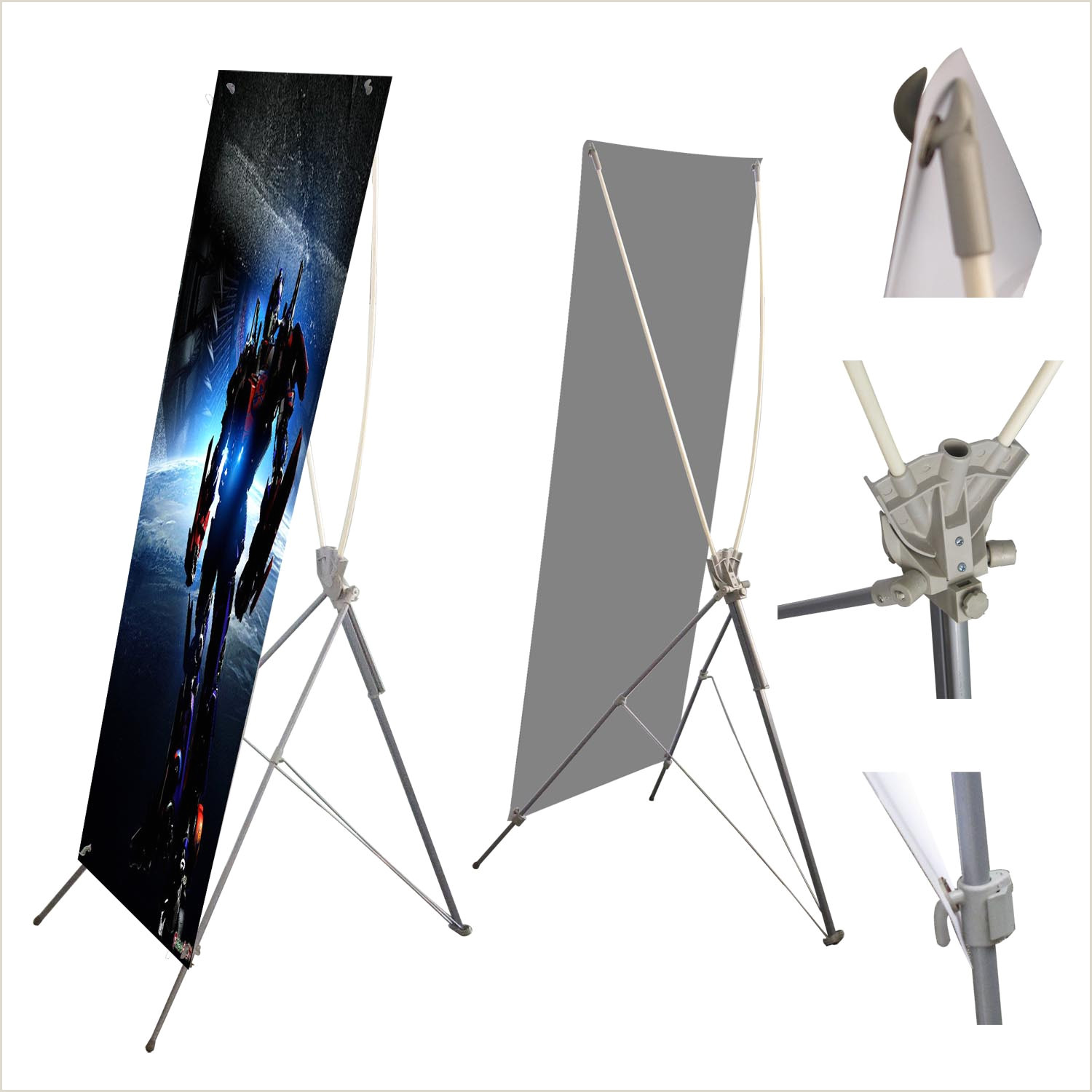 L Banner Stand X Stand Banner – La Drop