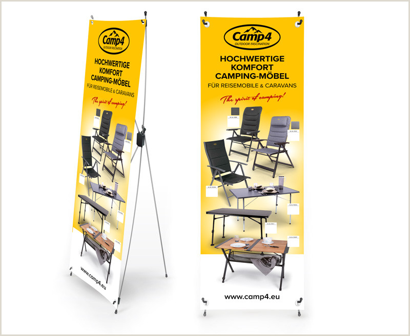 Large Banner Sizes Camp4 X Banner Camping Furniture For Motorhomes & Caravans Size 600x1800mm