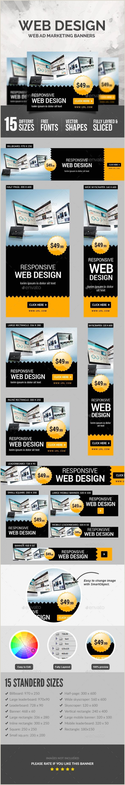 Large Banner Sizes Web Design Banners