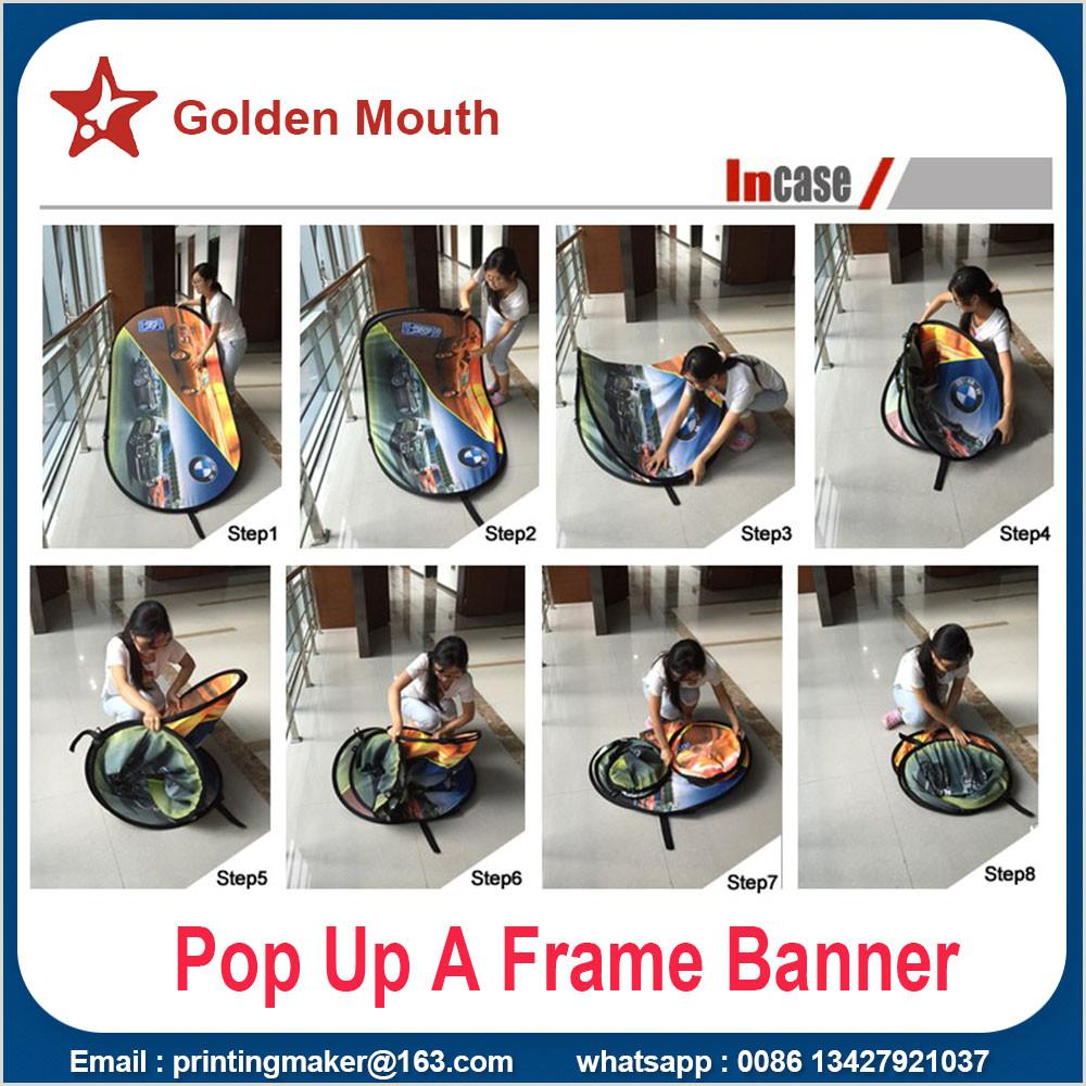 Large Pop Up Banner China Manufacturer Of Pop Up Display Pop Up Banner Stand