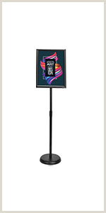 Large Poster Stand Amazon Koov Poster Board Stand Floor Sign Holder