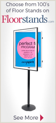 Large Poster Stand Poster Displays And Sign Stands