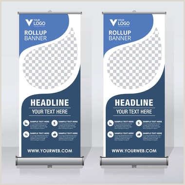 Large Pull Up Banners ✅ Pull Up Banner Premium Vector For Mercial Use