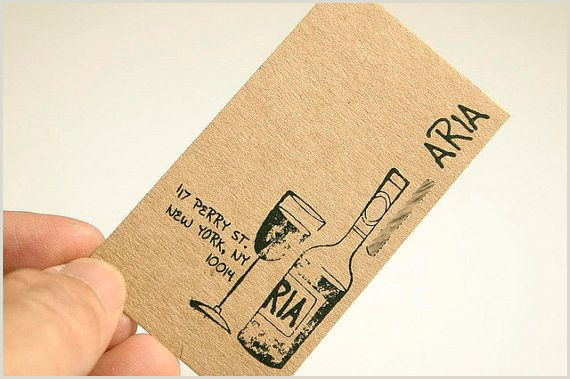 Leave Your Business Card For A Chance To Win 200 Business Cards Or Tags 13 Pt Brown Kraft Paper