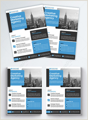 Legal Business Card Design Ideas Black Business Flyer Template Image Picture Free