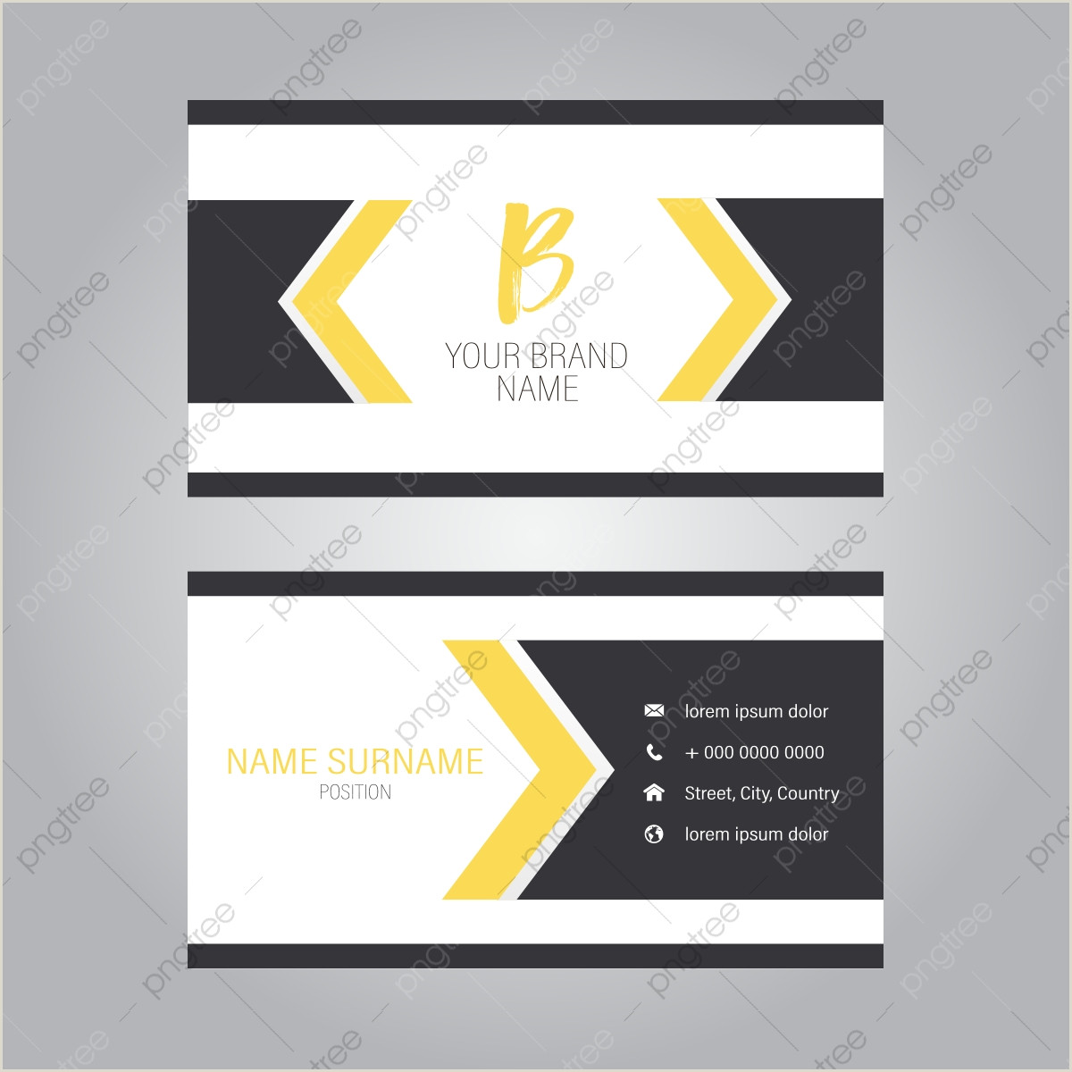 Logo And Business Card Design Business Card Design Png