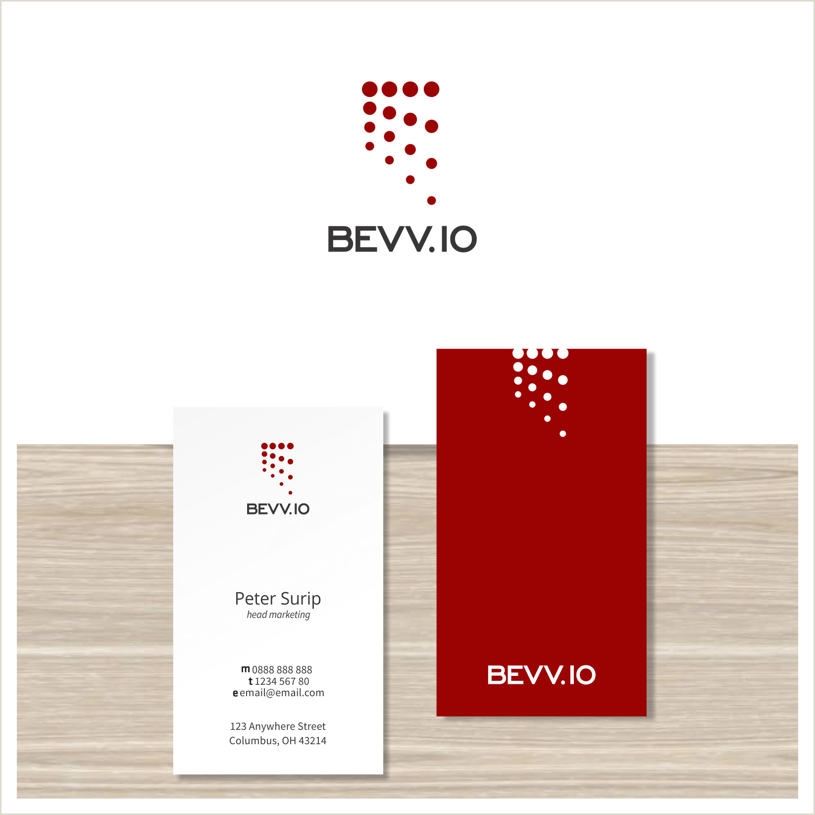 Logo Design Business Cards Crowdspring Logo & Business Card
