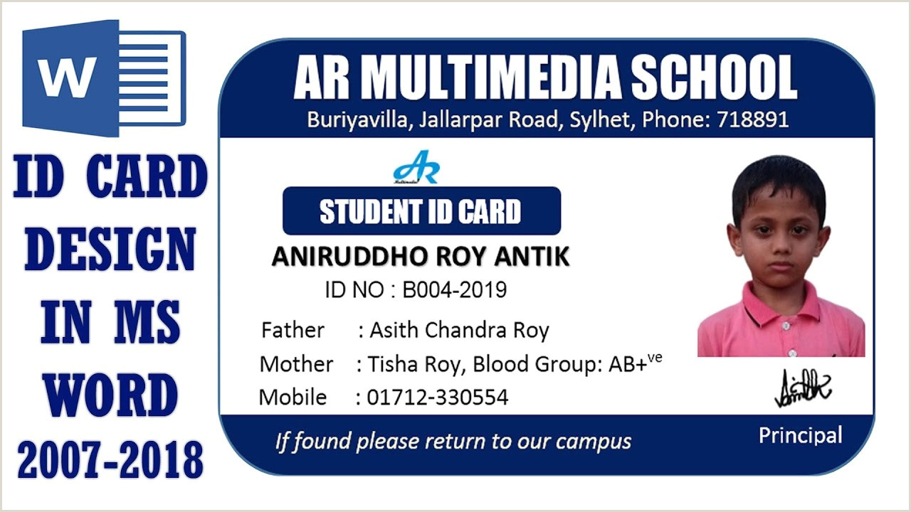 Make A Business Card In Word Ms Word Tutorial How To Create Professional Business Card