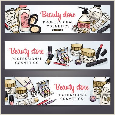 Make Up Banners ✅ Make Up Banner Premium Vector For Mercial Use