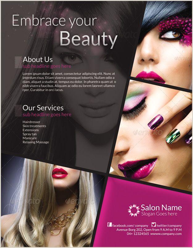 Make Up Banners Beauty Salon Design Makeup Poster Flyer Design Beauty