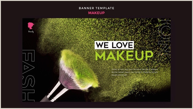Make Up Banners Free Psd