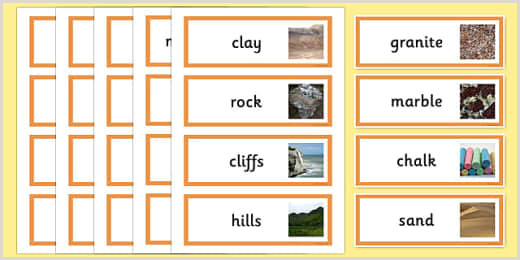 Make Up Banners Free Rocks And Soils Display Banner Teacher Made