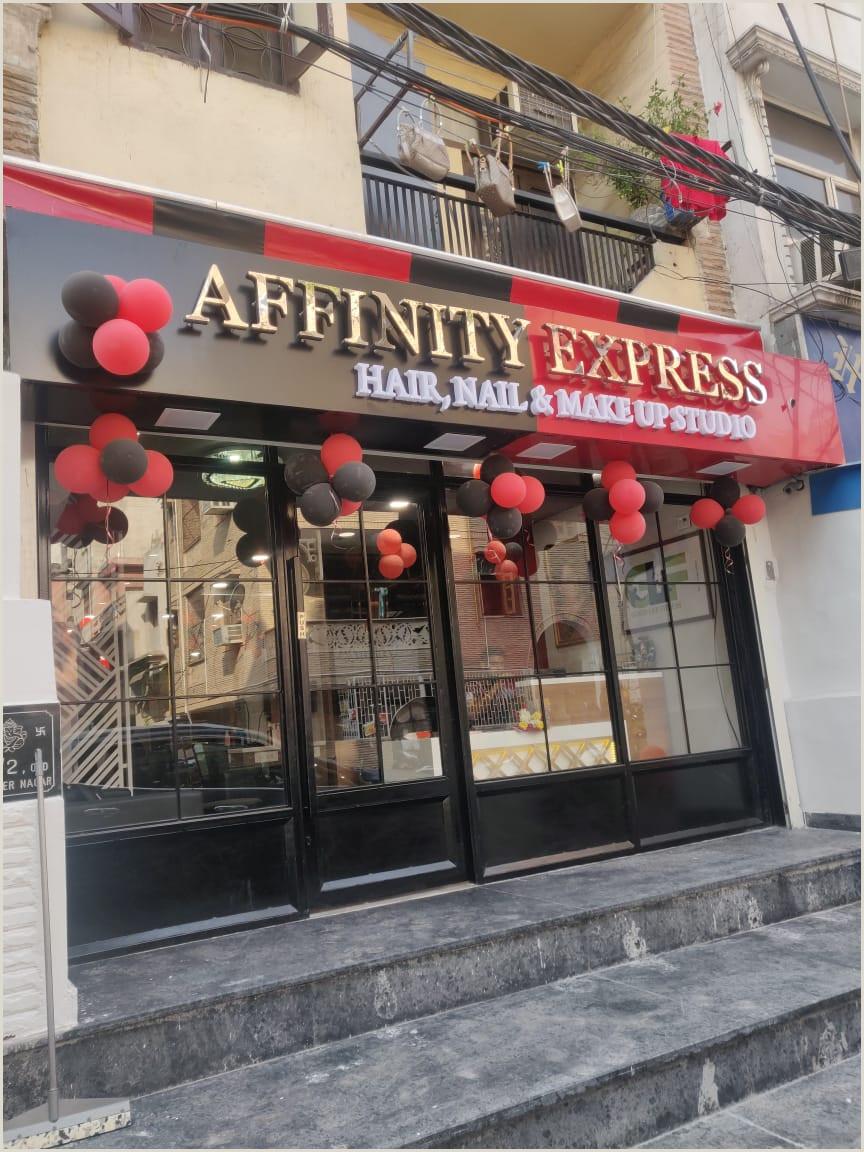 Make Up Banners S Of Affinity Express Old Rajinder Nagar New Delhi