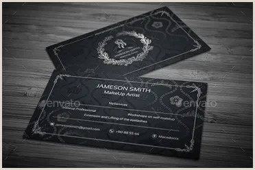 Makeup Artist Business Cards Ideas 40 Makeup Artist Business Card Templates Free Psd Designs