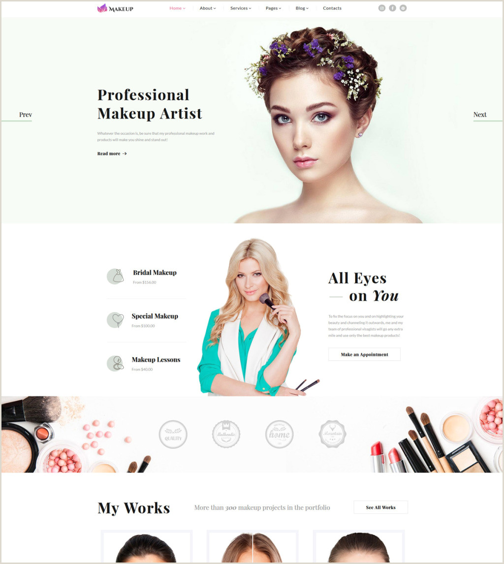 Makeup Artist Business Cards Ideas Makeup Artist Certificate Template