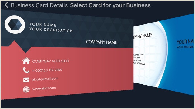 Making My Own Business Card Business Card Creator Quickly Create And Design Your