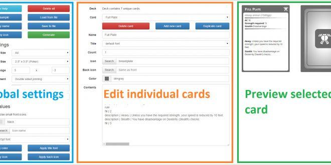Making Name Cards Rpg Cards