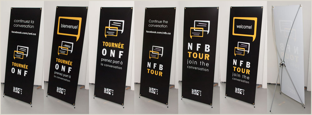 Marketing Banner Stand Banner X Stand – Mortgage Branded Marketing