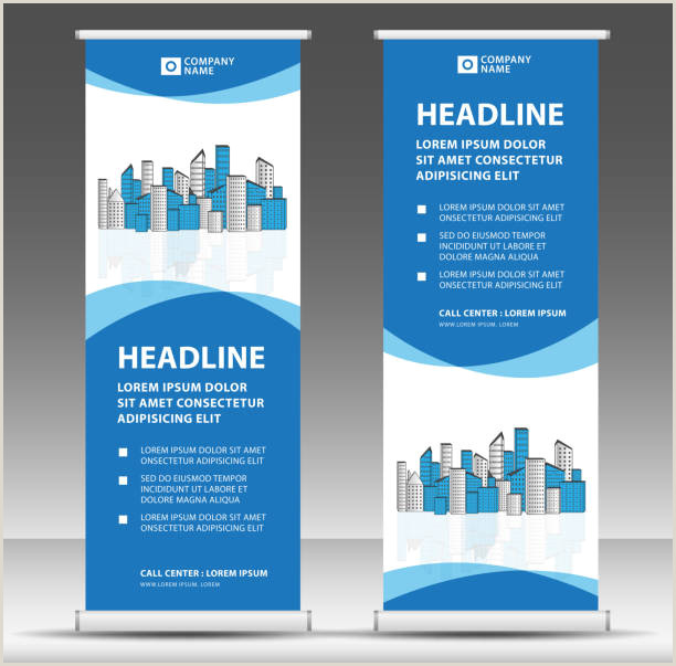 Marketing Banner Stand Free Banner Stand Vector Art
